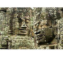 Heads of Stone Photographic Print