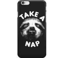 Take A Nap iPhone Case/Skin