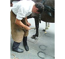 City Farrier Photographic Print