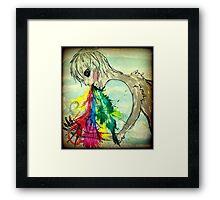 Vomiting Rainbows Framed Print