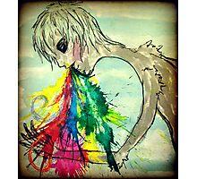 Vomiting Rainbows Photographic Print