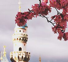 Spring time at Disneyland by whitneymicaela