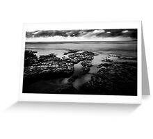 Bay of Fires, a very stormy Day.......... Greeting Card