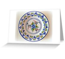 Colors of Spain Greeting Card