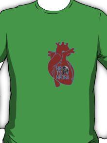 HRTSHPDBX - Nirvana (Heart-Shaped Box) RED T-Shirt