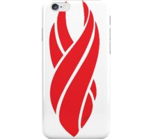 Daed Space Red Marker Logo iPhone Case/Skin