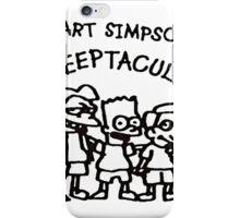 Bart Simpson Sleeptacular iPhone Case/Skin
