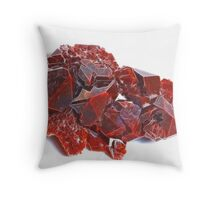 Pointedly Red Throw Pillow