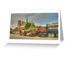 Down By The Seine Greeting Card