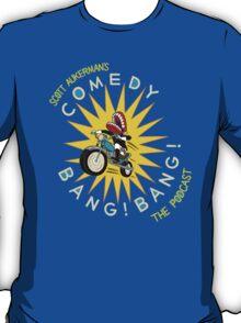 Comedy Bang Bang podcast title T-Shirt