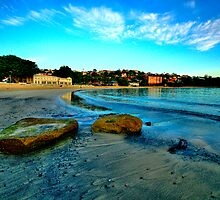 Blue Dawn - Balmoral Beach - The HDR Experience by Philip Johnson