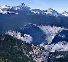 Panoramic View Yosemite Valley by Laurie Puglia