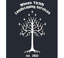 Minas Tirith Landscaping Services Humor Photographic Print