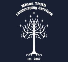 Minas Tirith Landscaping Services Humor by soulstains