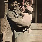 DECEMBER 1934 MY MOTHER AND ME by DIANEPEAREN