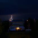 Alberta Lightning VIII by Al Bourassa