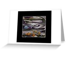 School-o-Fish Poster Greeting Card