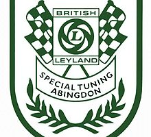 British Leyland Special Tuning Shield by JustBritish