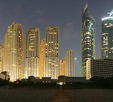 Jumierah Beach Dubai by Simon Geddes