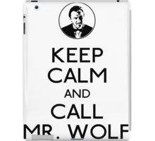 Call mr wolf iPad Case/Skin