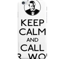 Call mr wolf iPhone Case/Skin