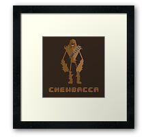 #4 Chewbacca Framed Print