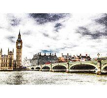 Westminster Bridge London Photographic Print