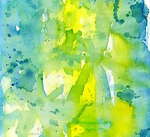 Watercolor abstract composition by Nicolaiivanovic
