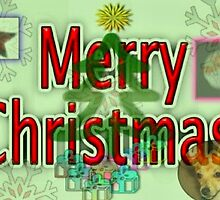 Merry Christmas Card by e  owen