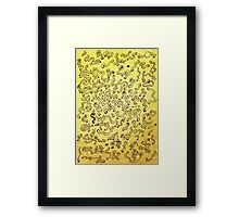 Worms attack! Framed Print