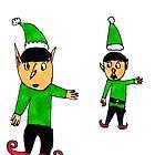Santa Claus' Elves  by Fotis