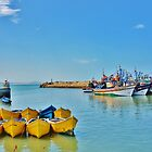 essaouira harbour by marxbrothers