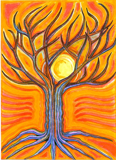 As Night Falls On The Tree Of Life by Catherine  Howell
