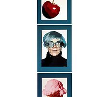 Warhol with a Cherry on Top by Samitha Hess