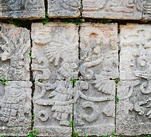 mayan graffiti by Stephen Beyer