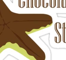 Chocolate Starfish Sticker