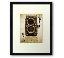 Modern times are coming... Framed Print