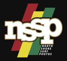 North Shore Surf Photos - Logo T by jtgray