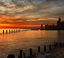 Lakefront Dawn by Adam Bykowski