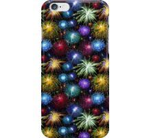 Fireworks 2 Bursts Design iPhone Case/Skin
