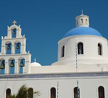 greece church by lightwild