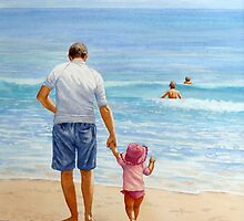 Hangin' With Dad by Fiona  Lee