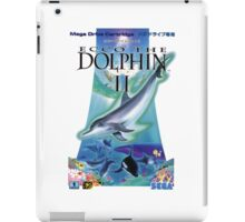 Dolphin Ecco iPad Case/Skin