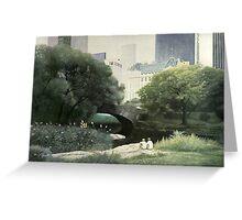 Summer Days(Central Park-New York City) Greeting Card