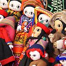 Handmade Indian dolls by cascoly