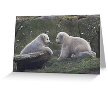 Hey ... you look like me! Greeting Card