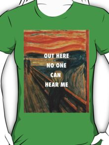 On a Neck, On a Spit | The Scream T-Shirt