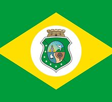 Flag of Brazilian State of Ceará by abbeyz71