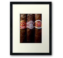 Cuban Cigars Framed Print
