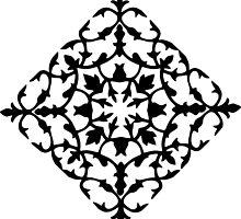 taj mahal engraving - papercut pattern by Sid's  Papercuts
